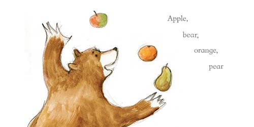 orange-pear-apple-bear