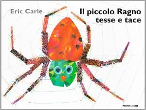 libri per bambini con animali - ragno tesse e tace
