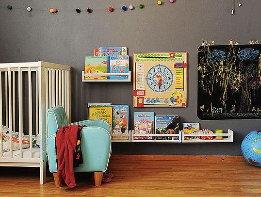 Mobili Portagiochi Per Bambini : Deliziose librerie per bambini low cost