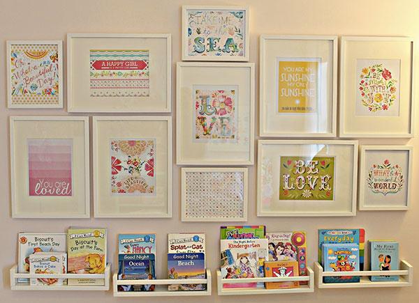 Scaffali Ikea Per Bambini : Deliziose librerie per bambini low cost