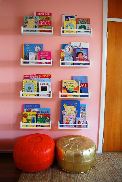 Costruire Mensole Per Libreria A Muro.Deliziose Librerie Per Bambini Low Cost