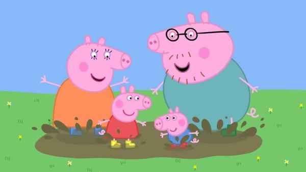 i personaggi più amati dai bambini_peppa pig