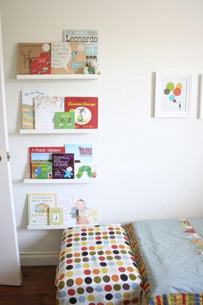 ribba ikea - librerie per bambini