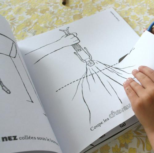 libri per disegnare e colorare-album dispetti