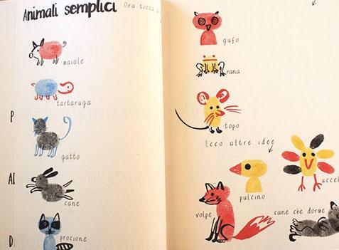 libri-per-disegnare-e-colorare-libro-impronte