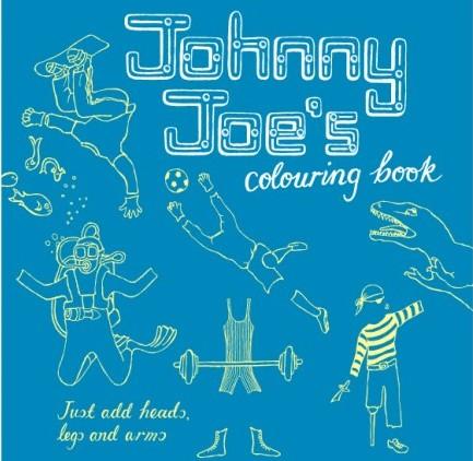 libri-per-disegnare e colorare-rosie-flo-johnny-joe-colouring-book
