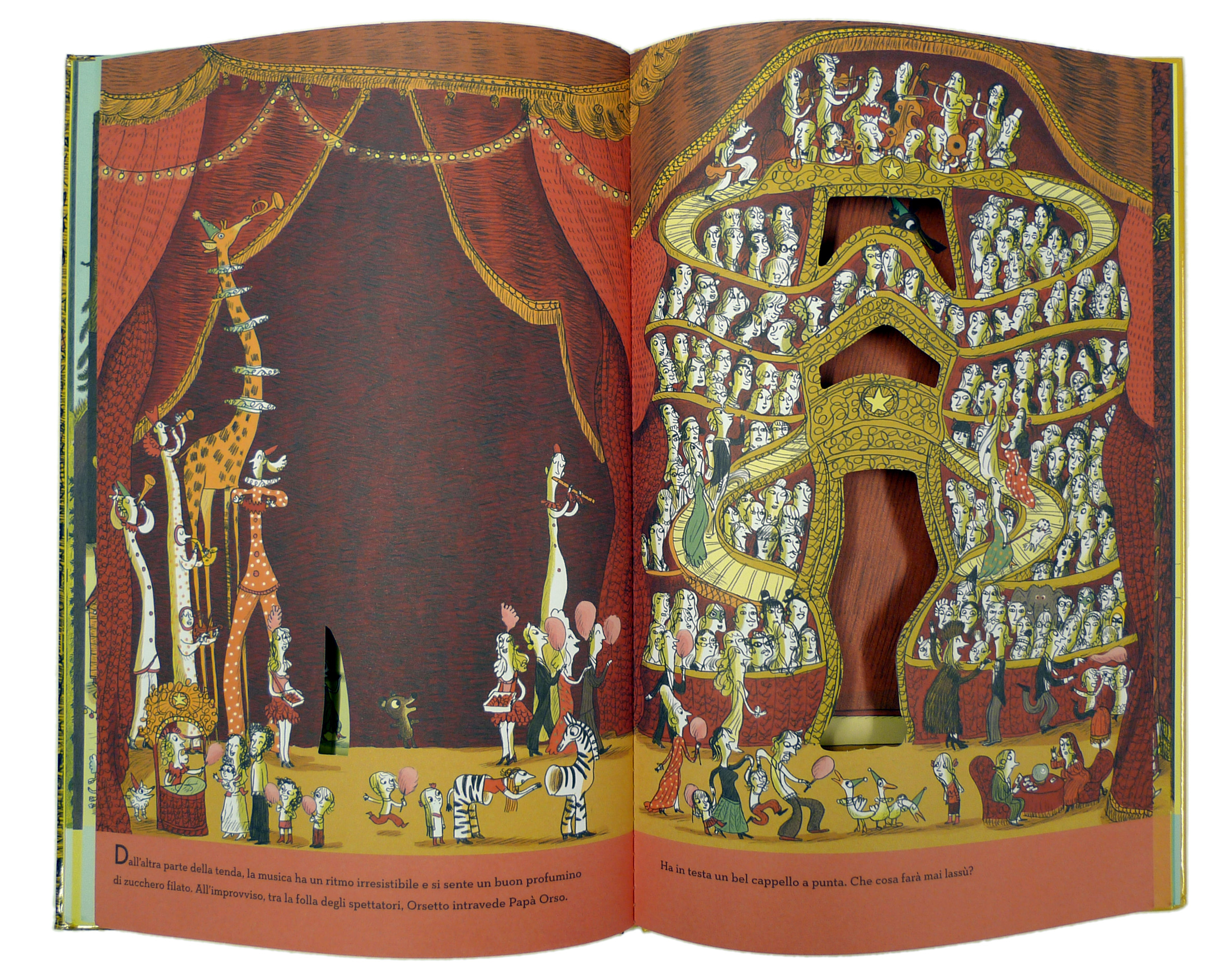 storie per bambini pupupidu è nel circo