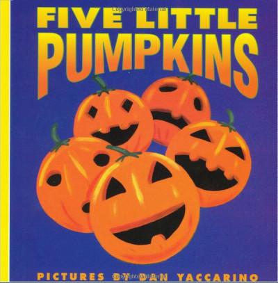 copertina del libro Five Little Pumpkins