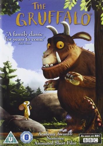 il dvd del Gruffalo