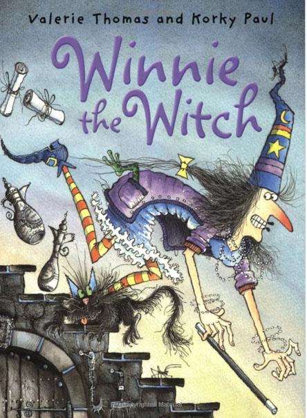 copertina di Winnie The Witch