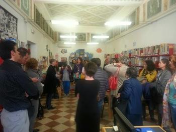Caterina Bovo racconta la storia della biblioteca
