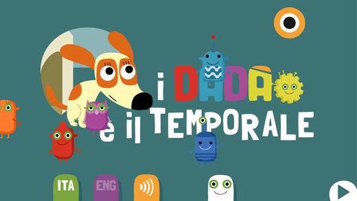 Homepage de I dada e il temporale