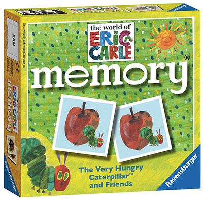 il gioco del memory con il bruco mai sazio