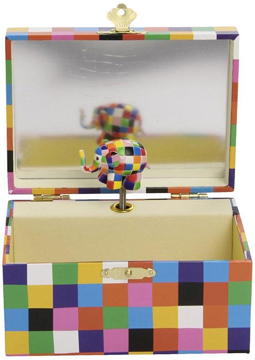 portagioie con carillon di Elmer