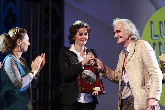 Gioia Marchegiani premiata al Lucca Comics