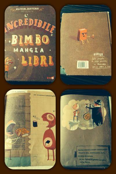 Alcune immagini de Il bimbo mangialibri di Oliver Jeffers