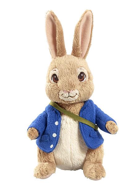 il pupazzo di peter rabbit