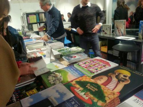 libri in vendita alla mostra Sarmede