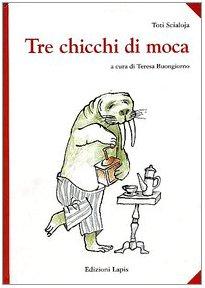copertina del libro tre chicchi di moca