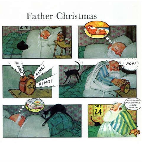 father christmas fumetto