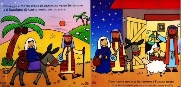 pagine interne del libro La notte di Natale