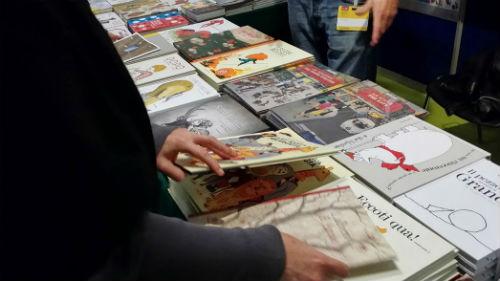 lo stand di Orecchio Acerbo Editore