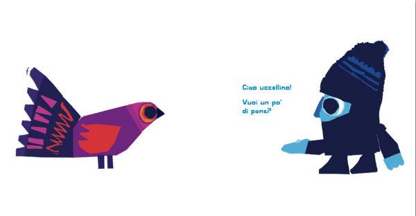 Il bambino e l'uccellino