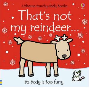 copertina di That's not my reindeer