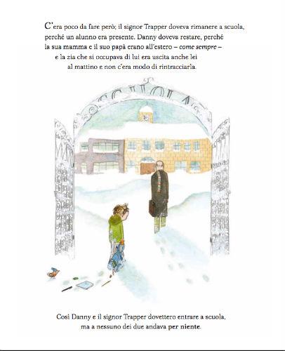 pagina interna di Un eccezionale nevicata