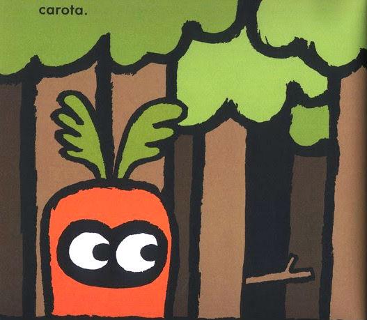 il gufo travestito da carota