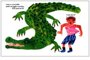 Il coccodrillo e il bambino