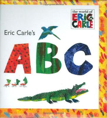 copertina di ABC Eric Carle