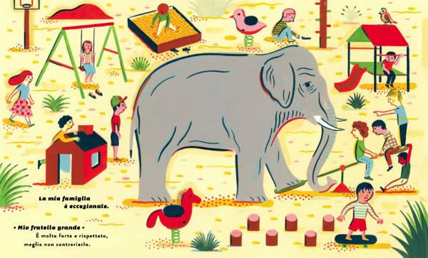 Un fratello elefante