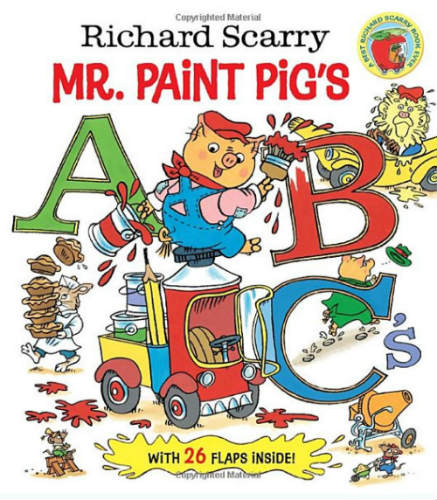 abbecedario richard scarry