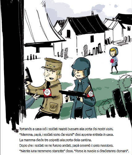gli agenti nazisti cercano i rifugiati