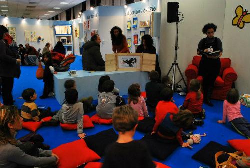 leggere ai bambini alla FIERA LIBRO ROMA
