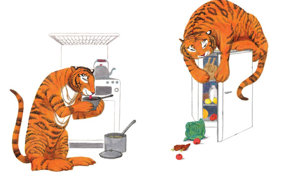 la tigre mangia ogni cosa