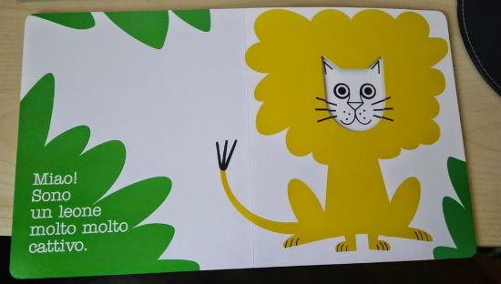 il leone è in realtà un gatto?