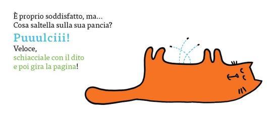 il gatto ha le pulci