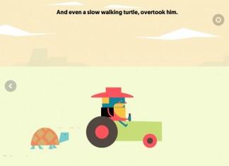 Alvin sul suo trattore