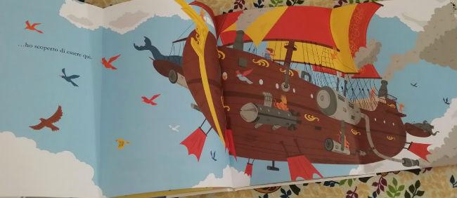 il bimbogatto sulla nave