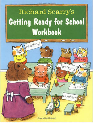 libri delle parole-GettingReadyForSchoolWorkbook-copertina
