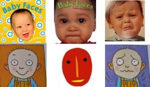 libri per bambini piccoli: i libri delle facce