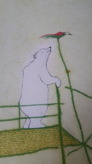 L'orso protagonista de L'Isola