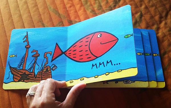 il pesce diventa grande