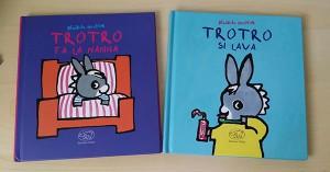 Copertine dei libri dedicati a Trotro