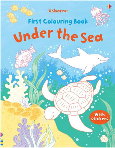 FirstColoring Book-Under the Sea