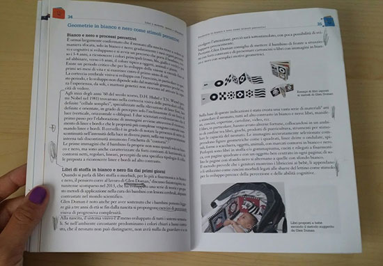 interno del libro