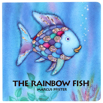 The Rainbow Fish copertina