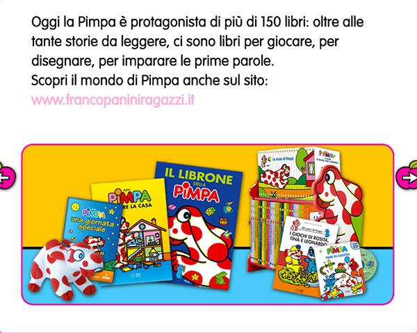 libri e riviste La Pimpa